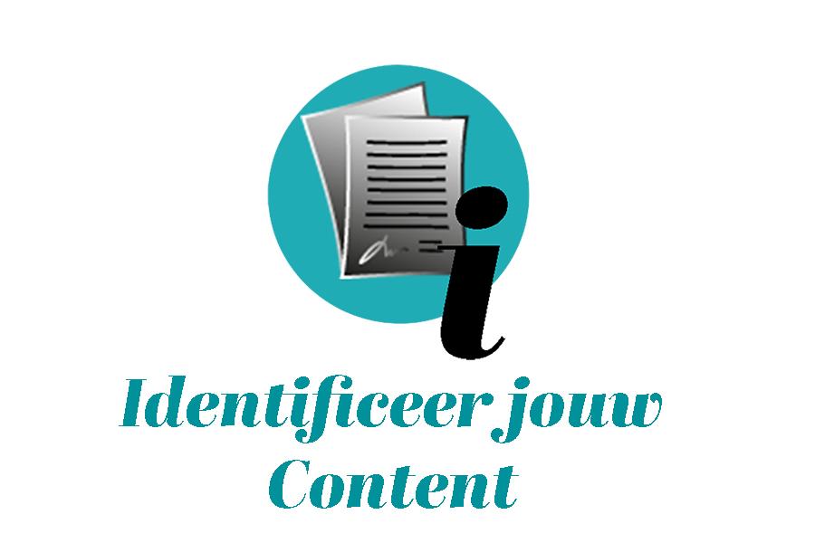 Identificeer jouw content