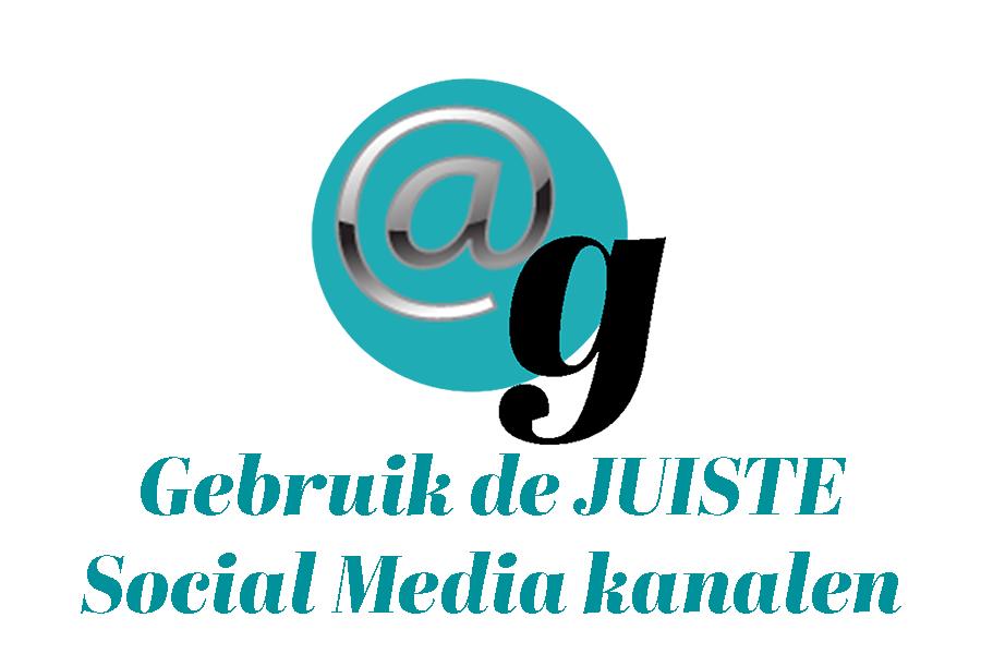 Gebruik de juiste social media kanalen