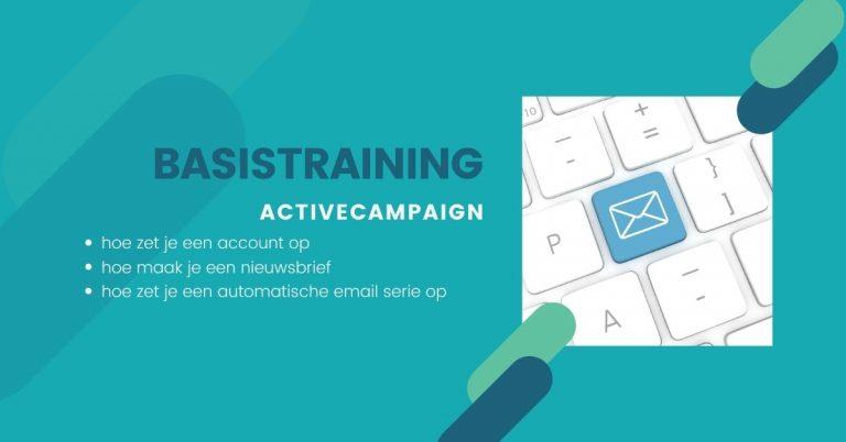 Basistraining ActiveCampaign